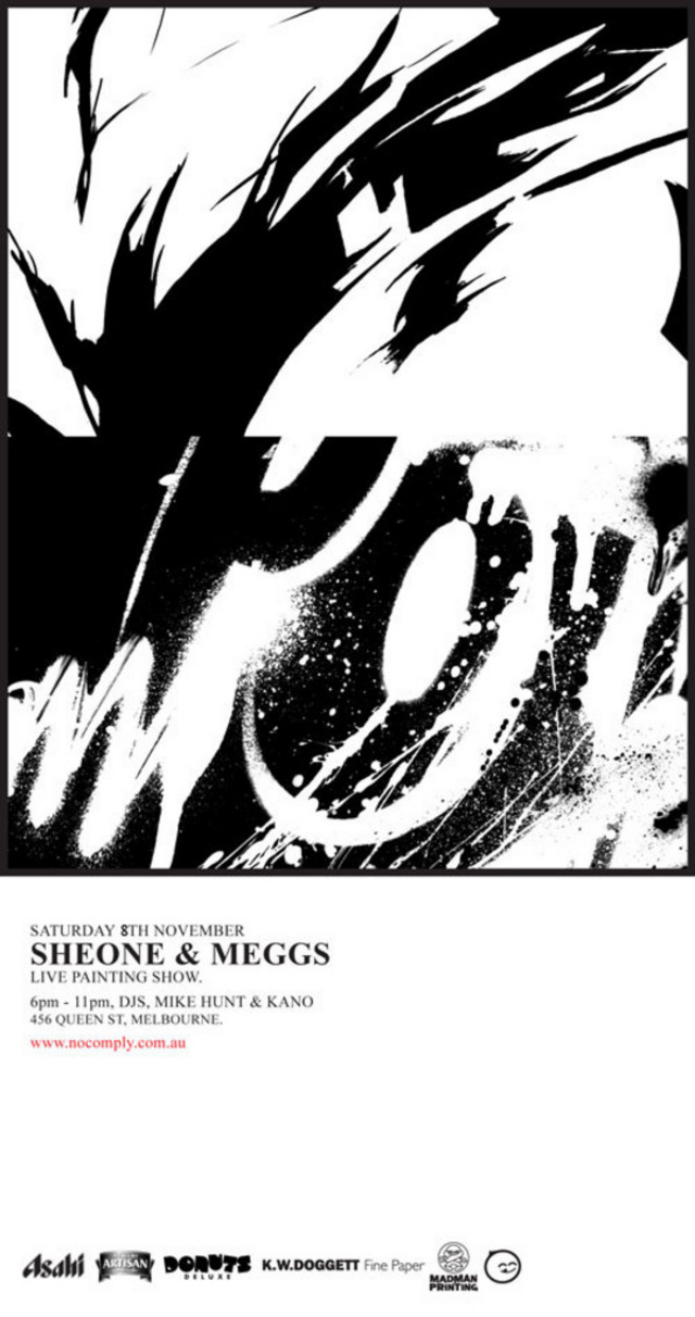 SheOne and Meggs Live Paint