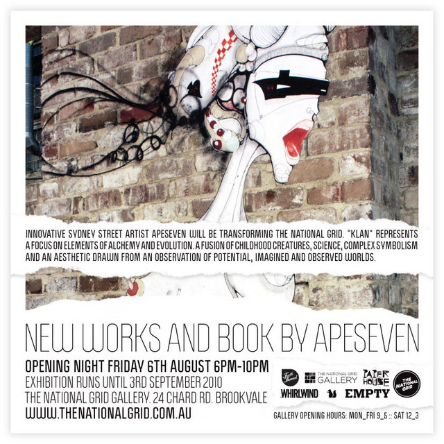 New Works and Book by Apeseven