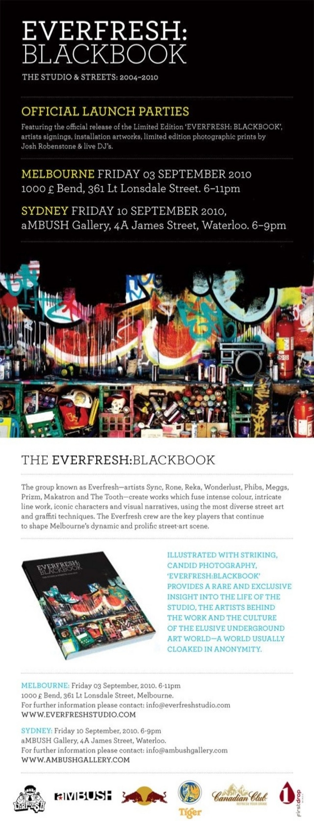 EVERFRESH Tokyo Blackbook Launch Party