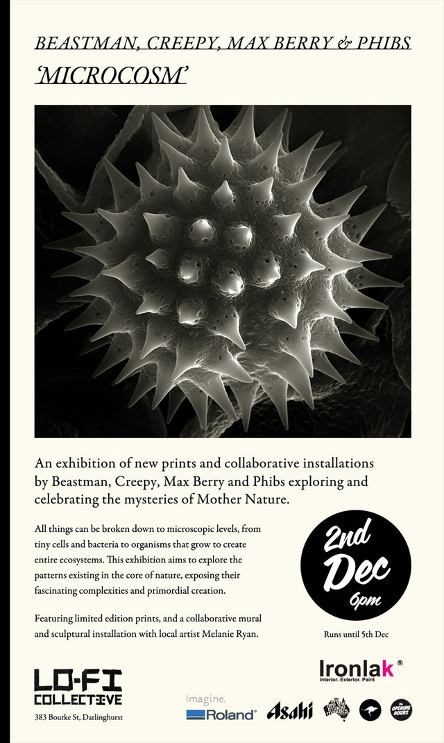 Microcosm by Beastman, Creepy, Max Berry and Phibs