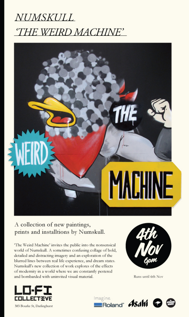 The Weird Machine by Numskull