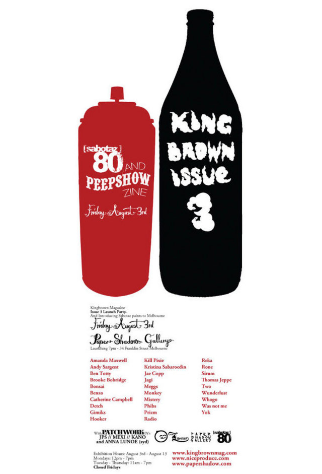 Kingbrown Issue 3 Launch